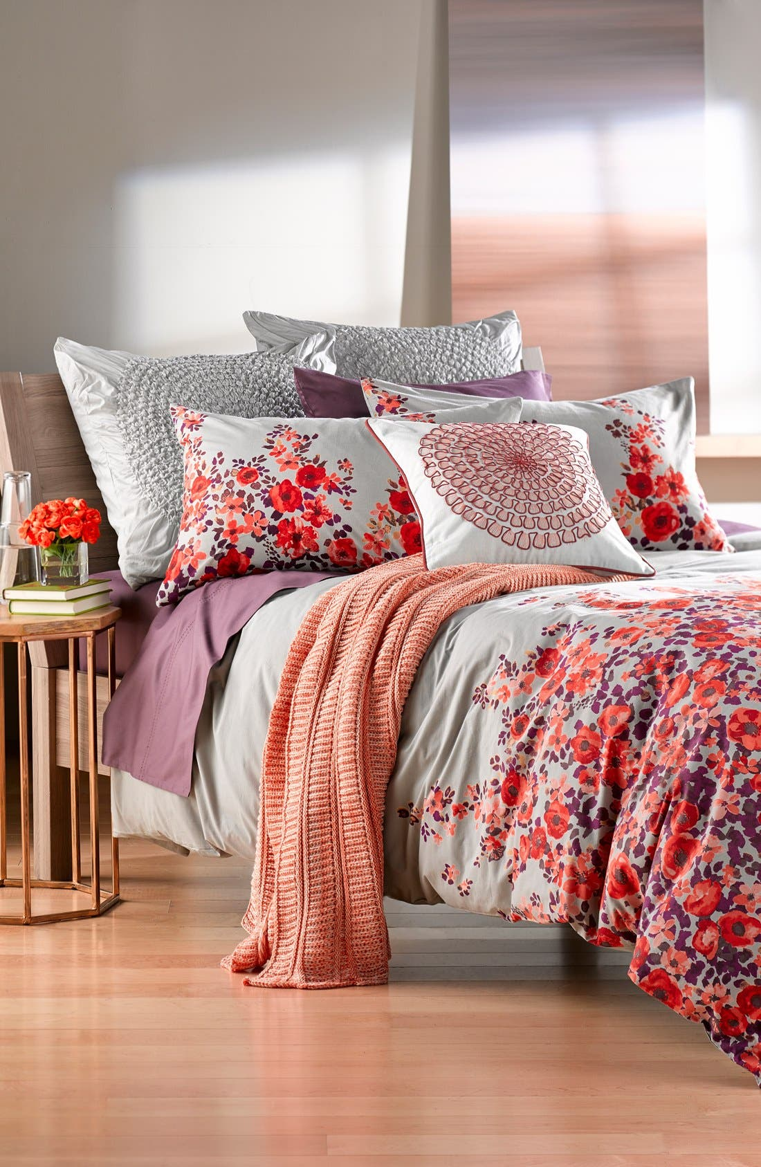 Alternate Image 4  - Nordstrom at Home 'Rosie' Accent Pillow