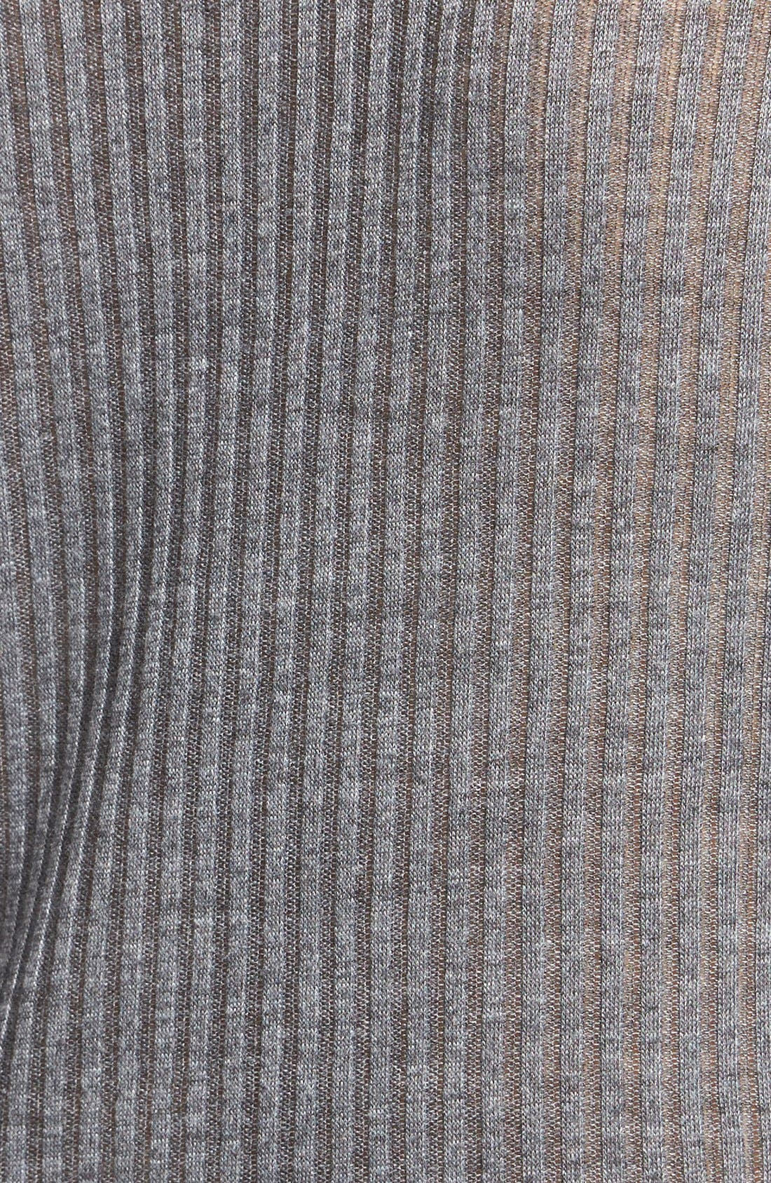 Alternate Image 3  - Topshop Rib Knit Funnel Neck Top