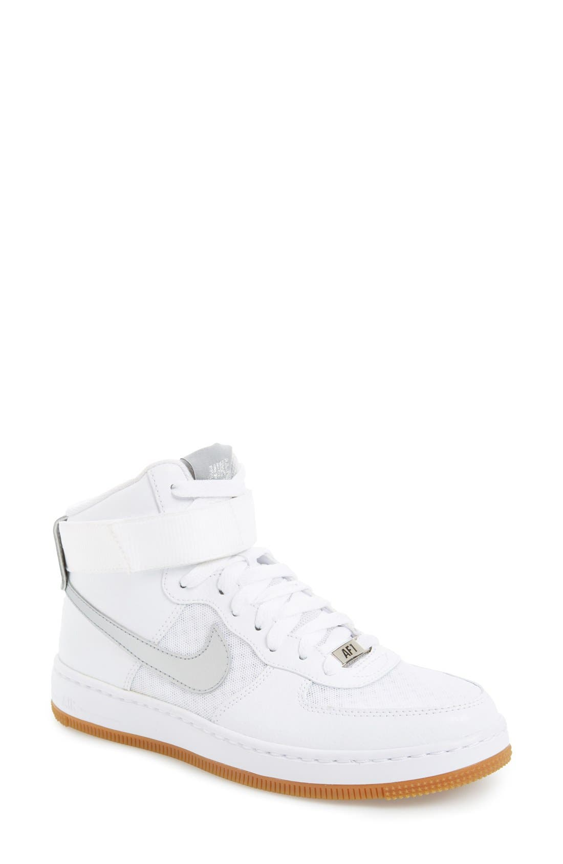 Alternate Image 1 Selected - Nike 'AF-1 Ultra Force Mid' High Top Sneaker (Women)