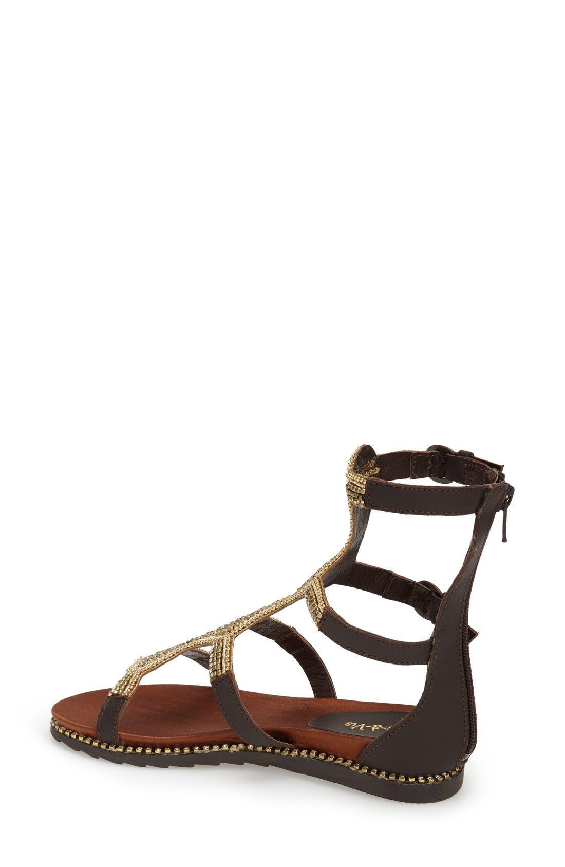 Alternate Image 4  - Vis-à-Vis 'Vaun' Embellished Gladiator Sandal (Women)