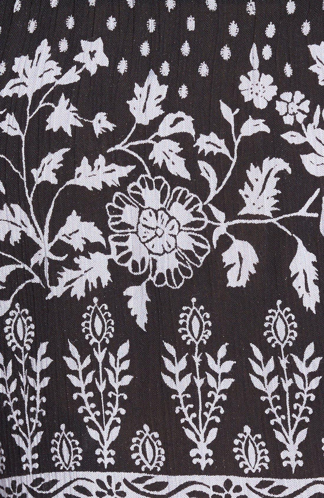 Alternate Image 3  - Angie Floral Print Shorts (Juniors)