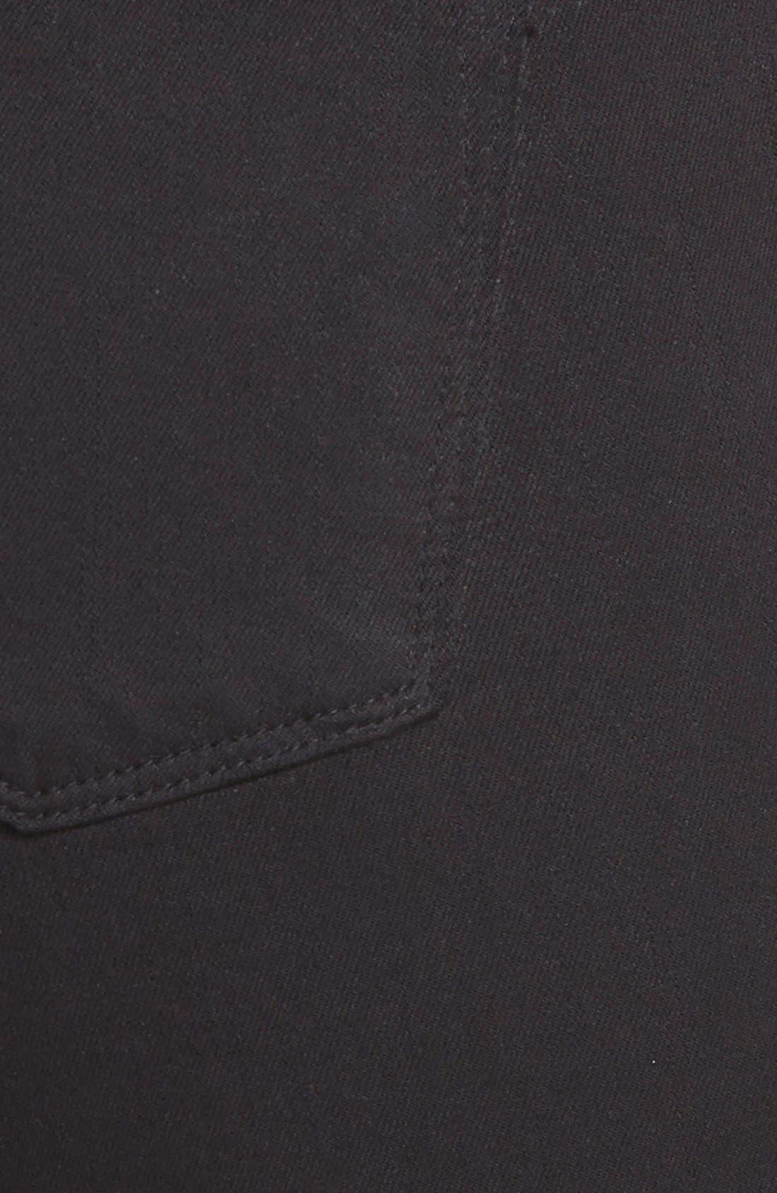 Alternate Image 3  - J Brand '811' Mid Rise Skinny Jeans (Black) (Nordstrom Exclusive)