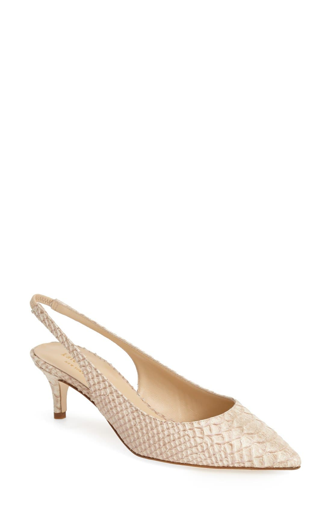 Alternate Image 1 Selected - kate spade new york 'saia' slingback pump