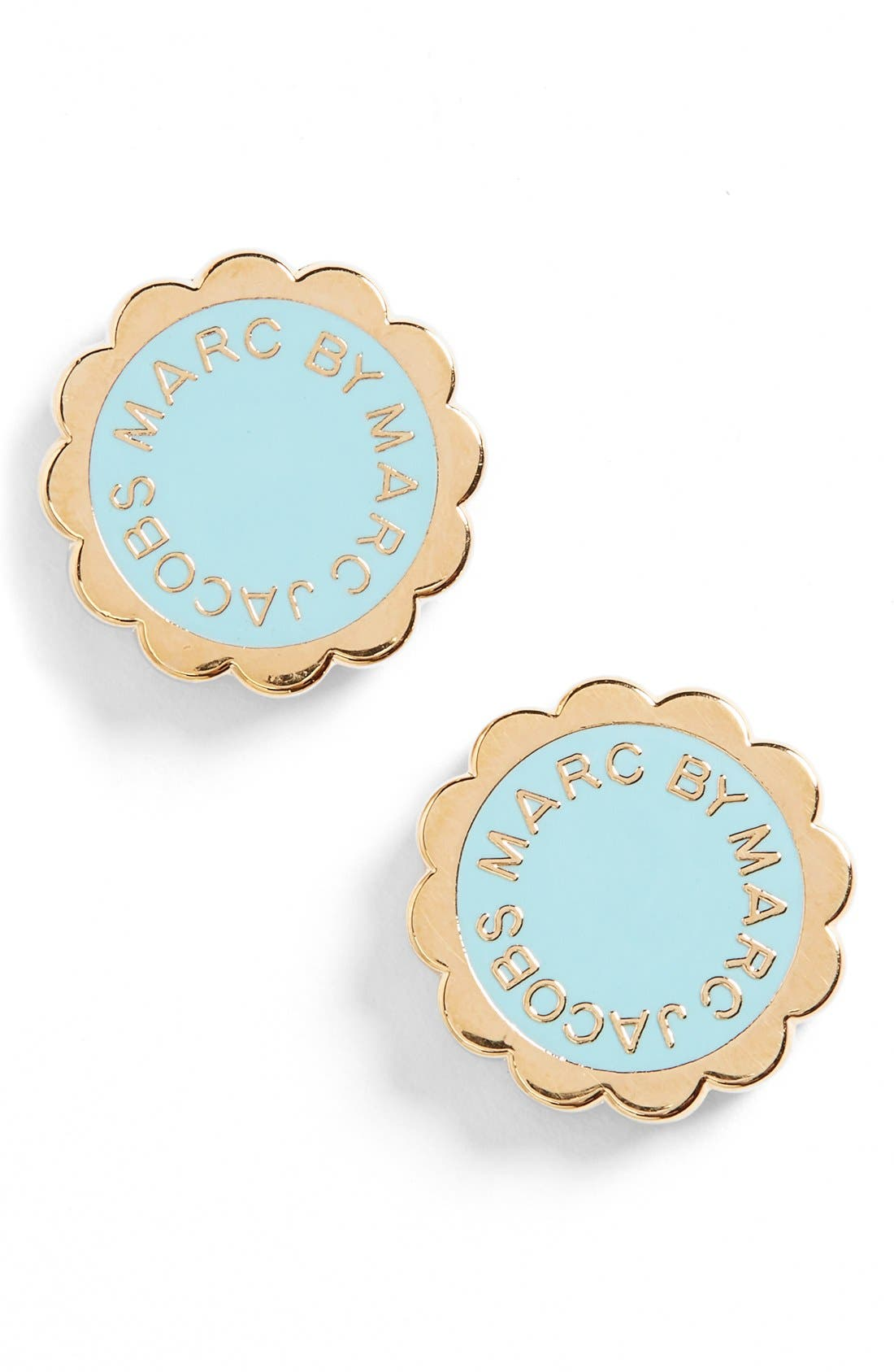 Main Image - MARC BY MARC JACOBS Scalloped Disc Stud Earrings