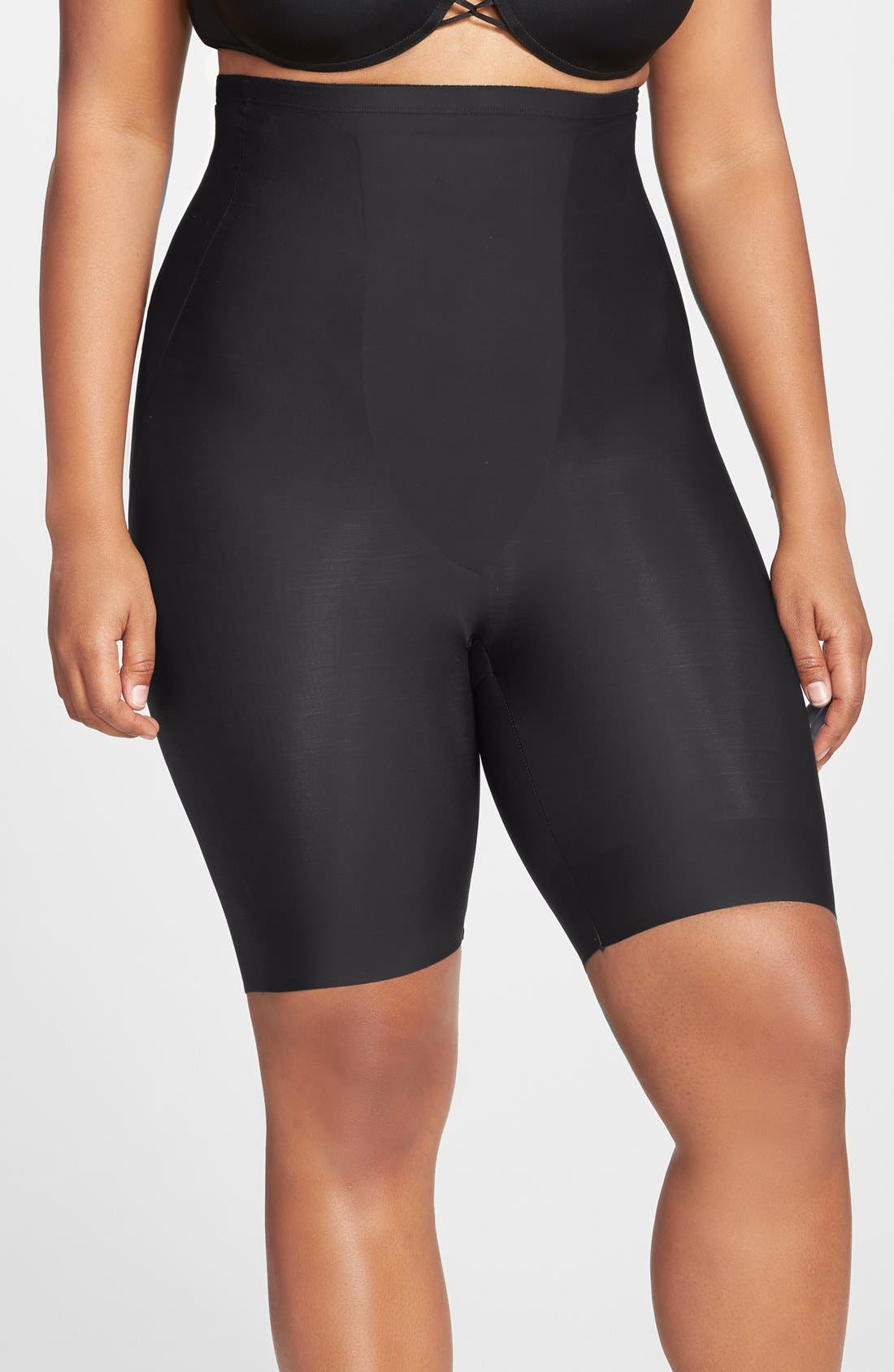 Alternate Image 1 Selected - TC Shaping High Waist Thigh Slimmer (Plus Size) (Online Only)