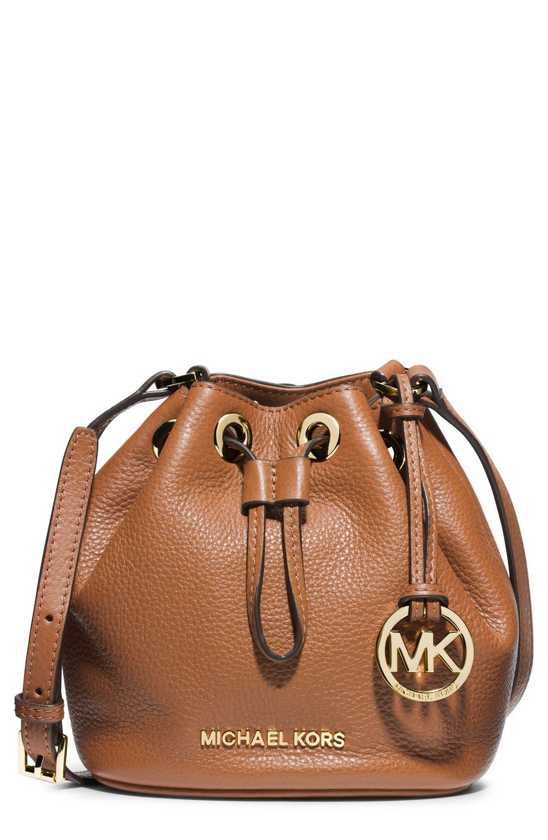 Main Image - MICHAEL Michael Kors 'Jules' Drawstring Crossbody Bag