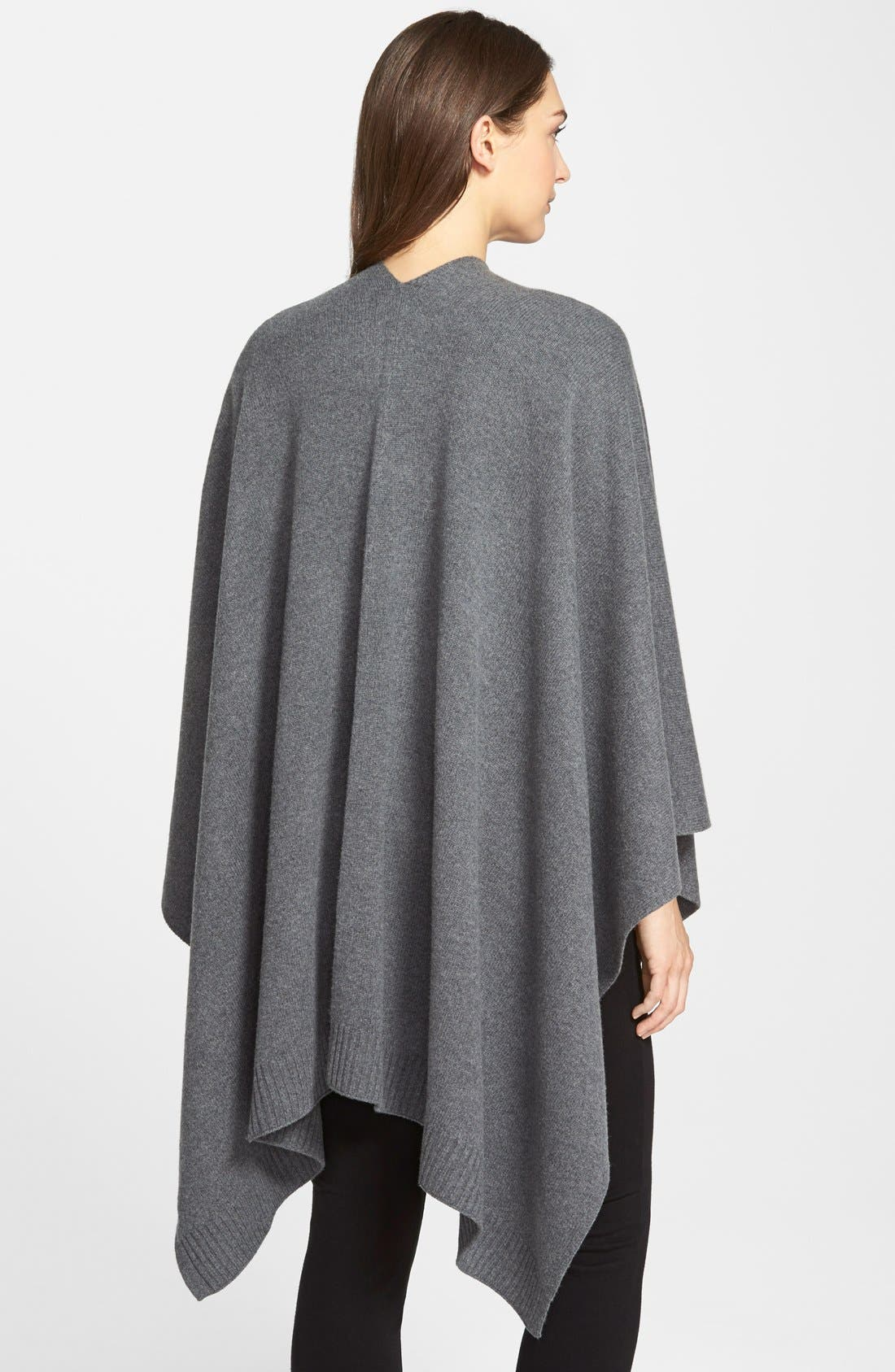 Alternate Image 2  - Eileen Fisher Cozy Wool Poncho