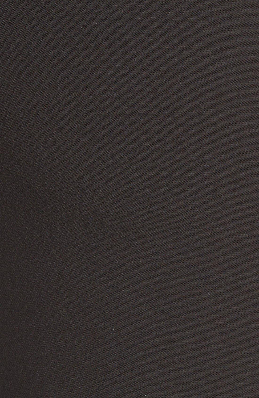 Alternate Image 4  - Halogen® Colorblock Faux Wrap Skirt