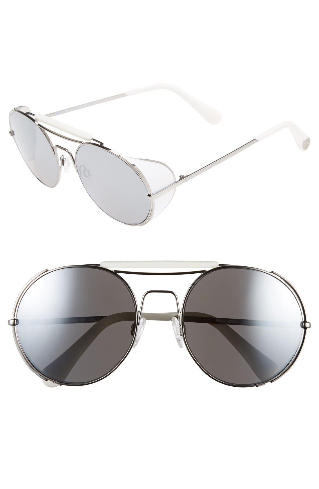 Main Image - ill.i by will.i.am 'WA508S' 55mm Sunglasses