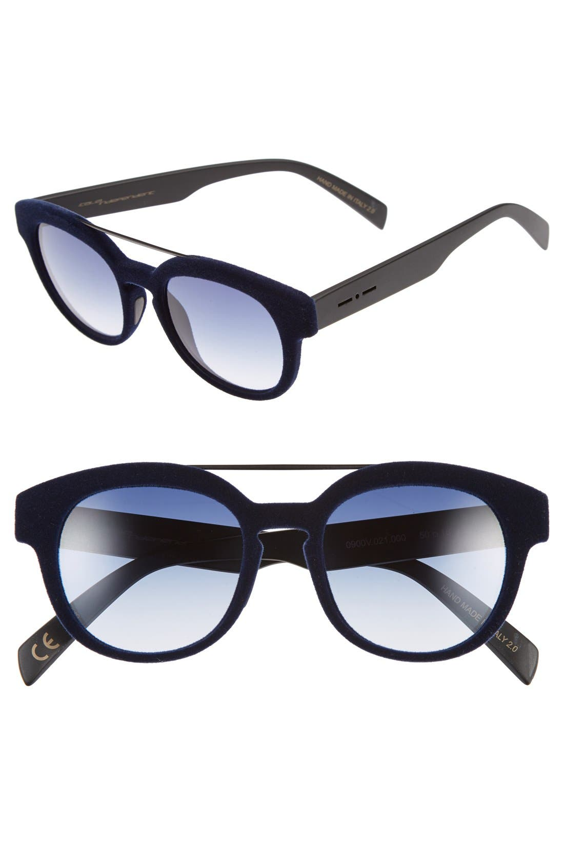 Alternate Image 1 Selected - Italia Independent 50mm Retro Sunglasses