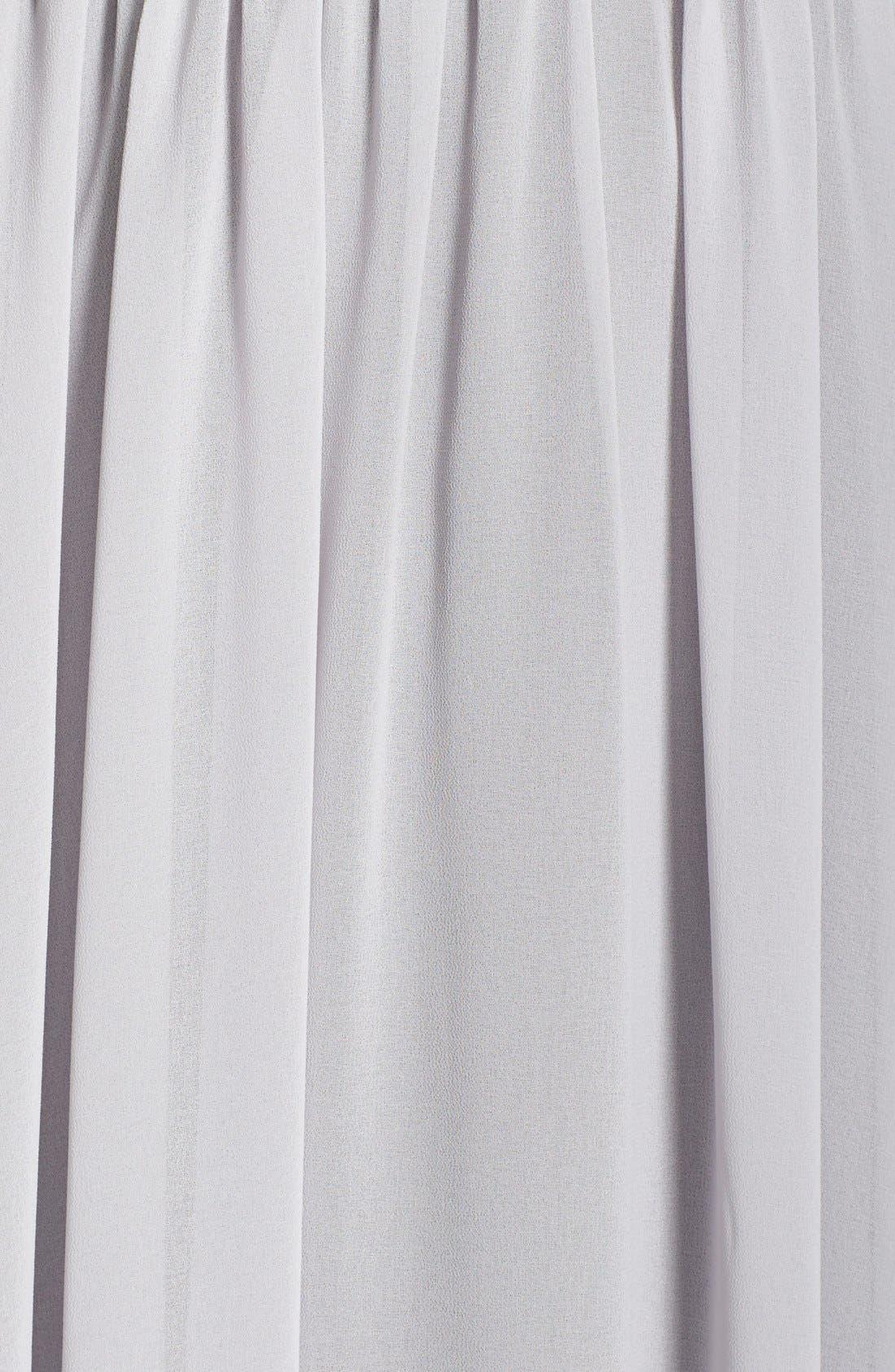 Alternate Image 3  - Paper Crown by Lauren Conrad 'Jillian' Sleeveless Surplice Chiffon Gown