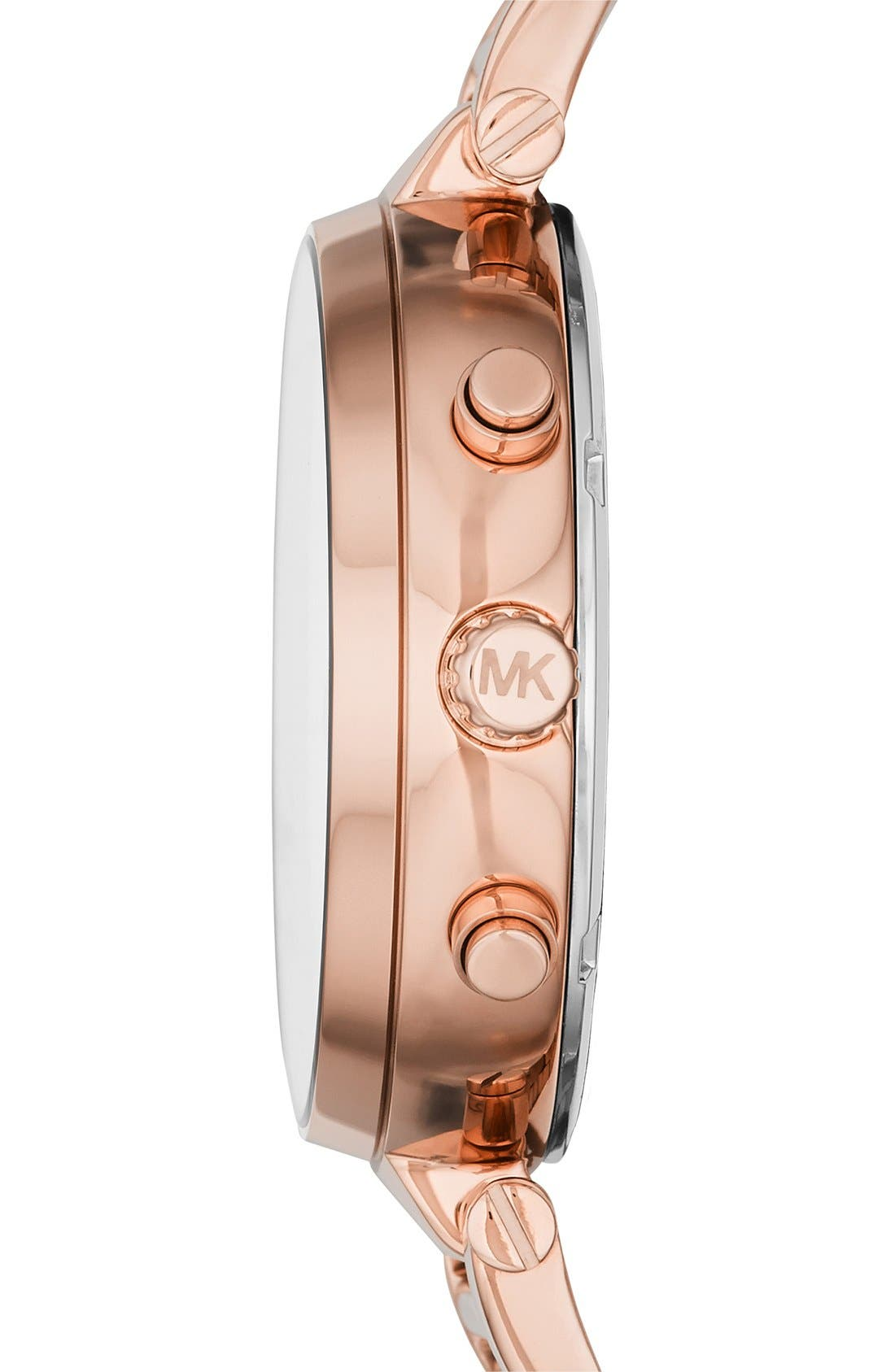 Alternate Image 2  - Michael Kors 'Sawyer' Bracelet Watch, 39mm