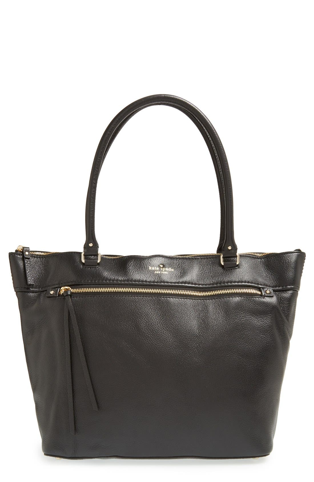 Main Image - kate spade new york 'cobble hill - gina' leather tote