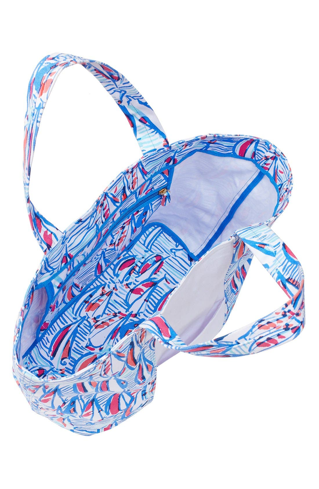 Alternate Image 2  - Lilly Pulitzer® Print Canvas Beach Tote