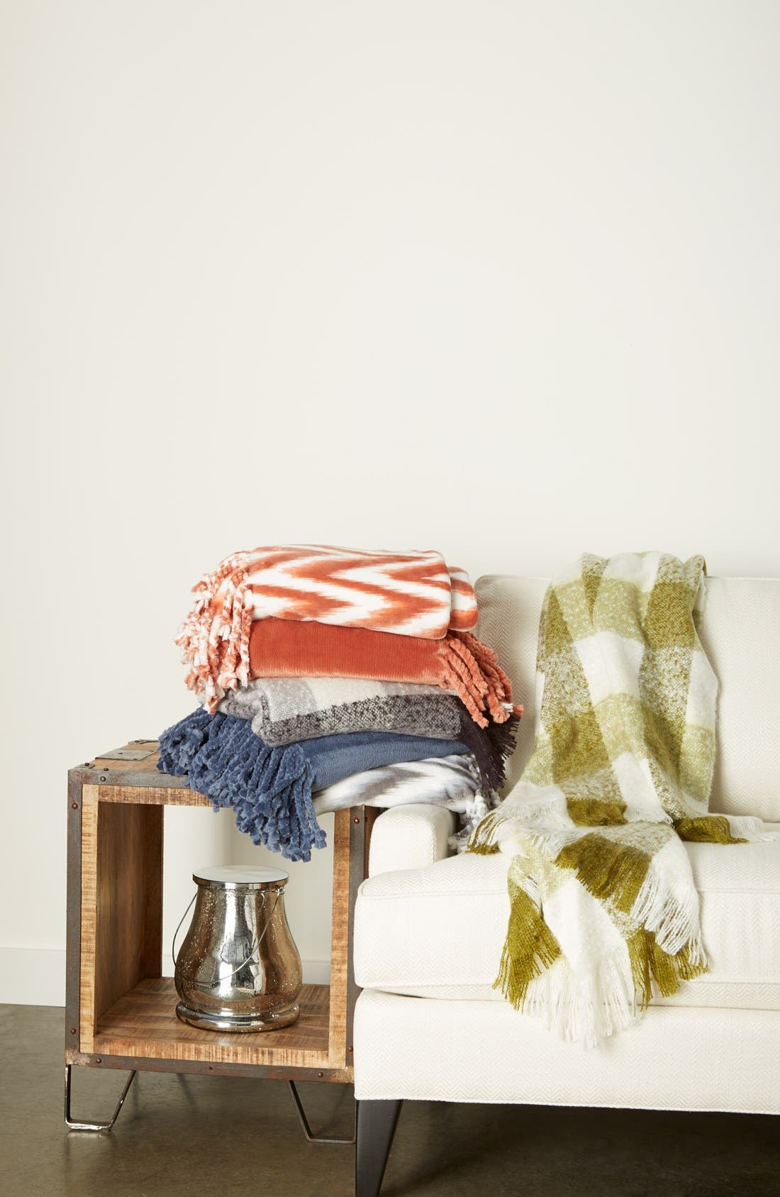 Alternate Image 2  - Nordstrom at Home Plaid Throw