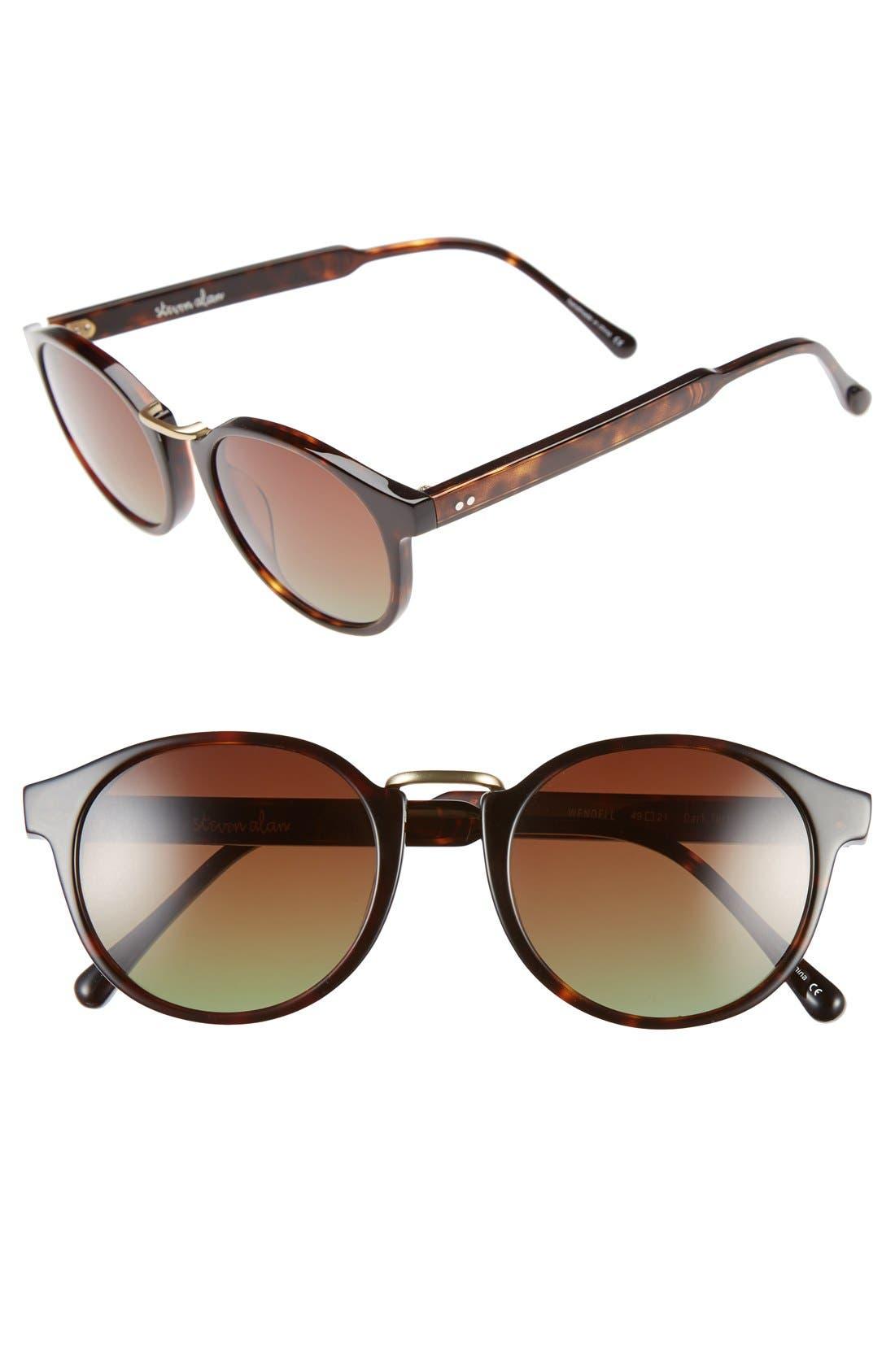 Alternate Image 1 Selected - Steven Alan 'Wendell' 49mm Retro Sunglasses