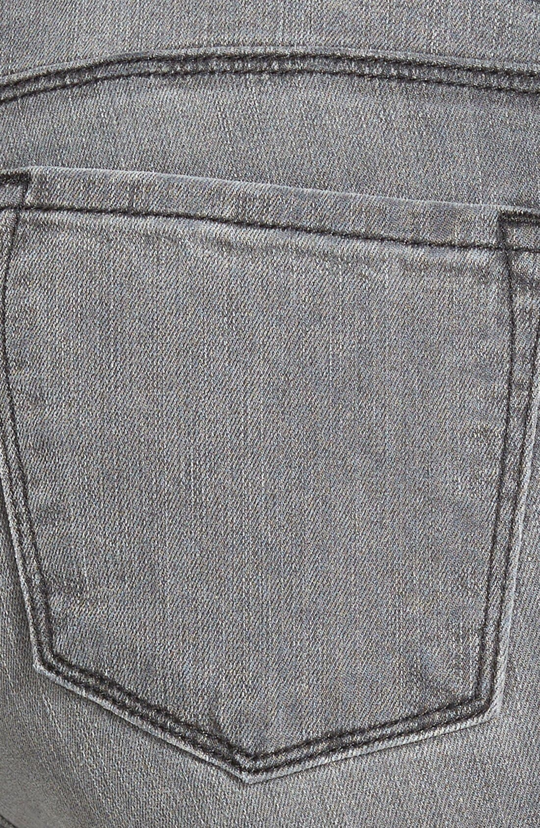 Alternate Image 3  - J Brand '620' Mid Rise Skinny Jeans (Nightbird)