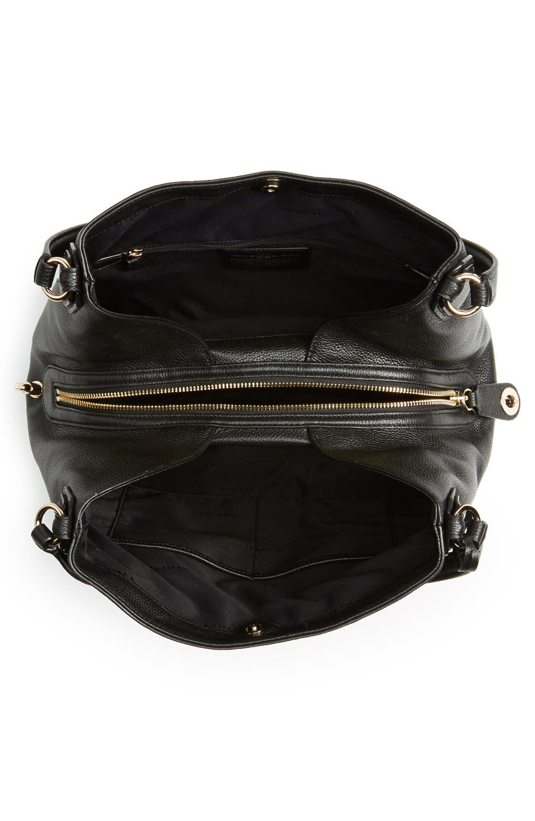 Alternate Image 4  - Coach 'Edie' Pebbled Leather Shoulder Bag