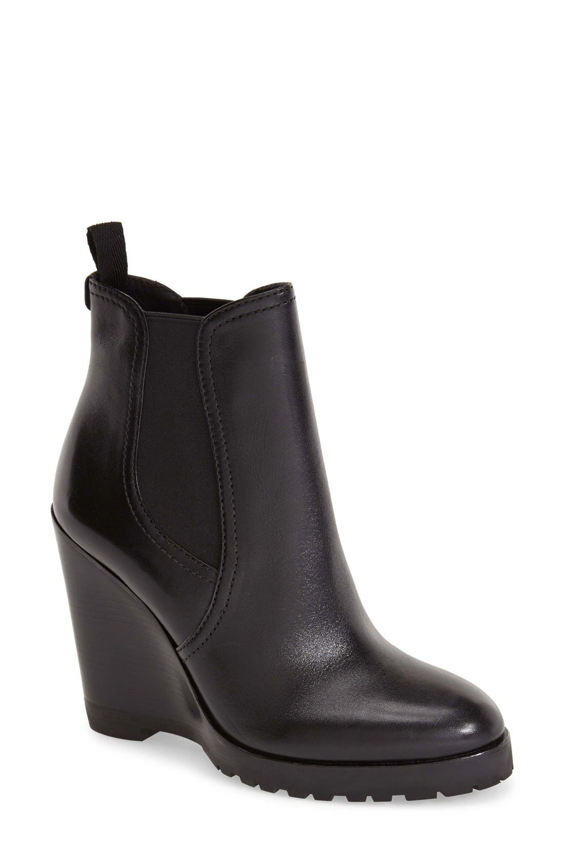 Alternate Image 1 Selected - MICHAEL Michael Kors 'Thea' Wedge Bootie (Women)