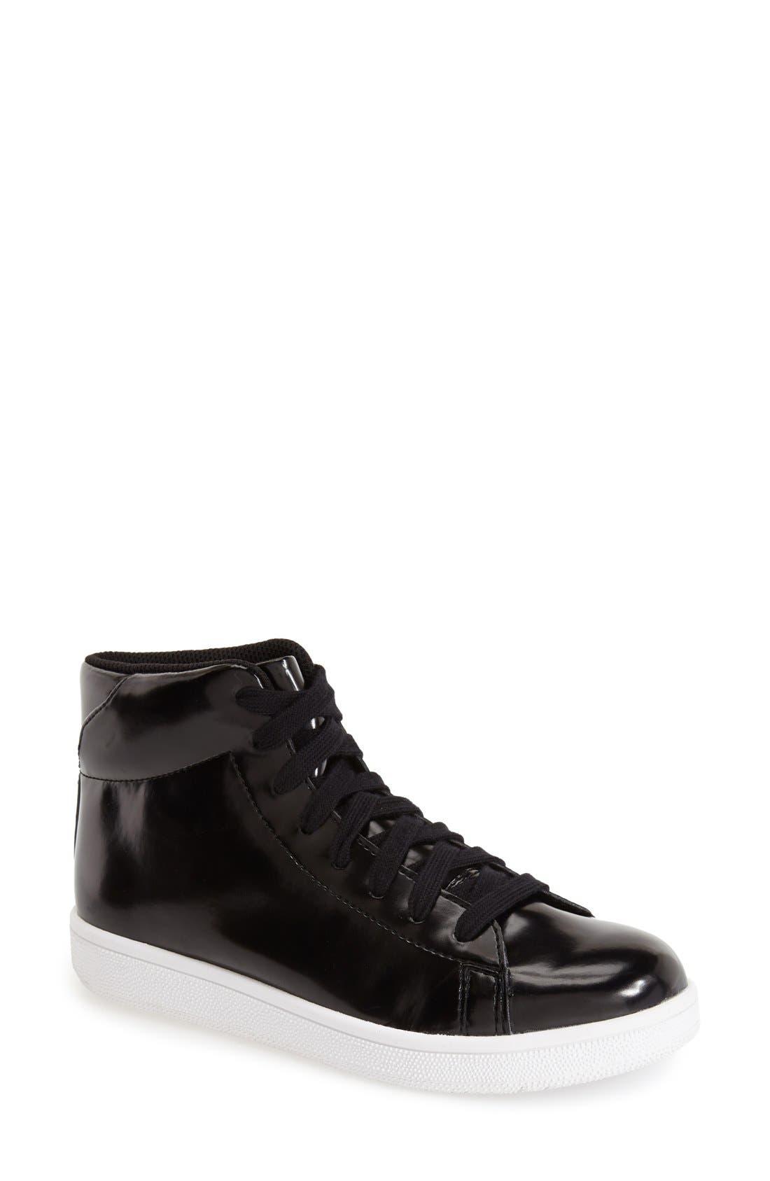 Alternate Image 1 Selected - Jeffrey Campbell 'Player' High Top Sneaker (Women)