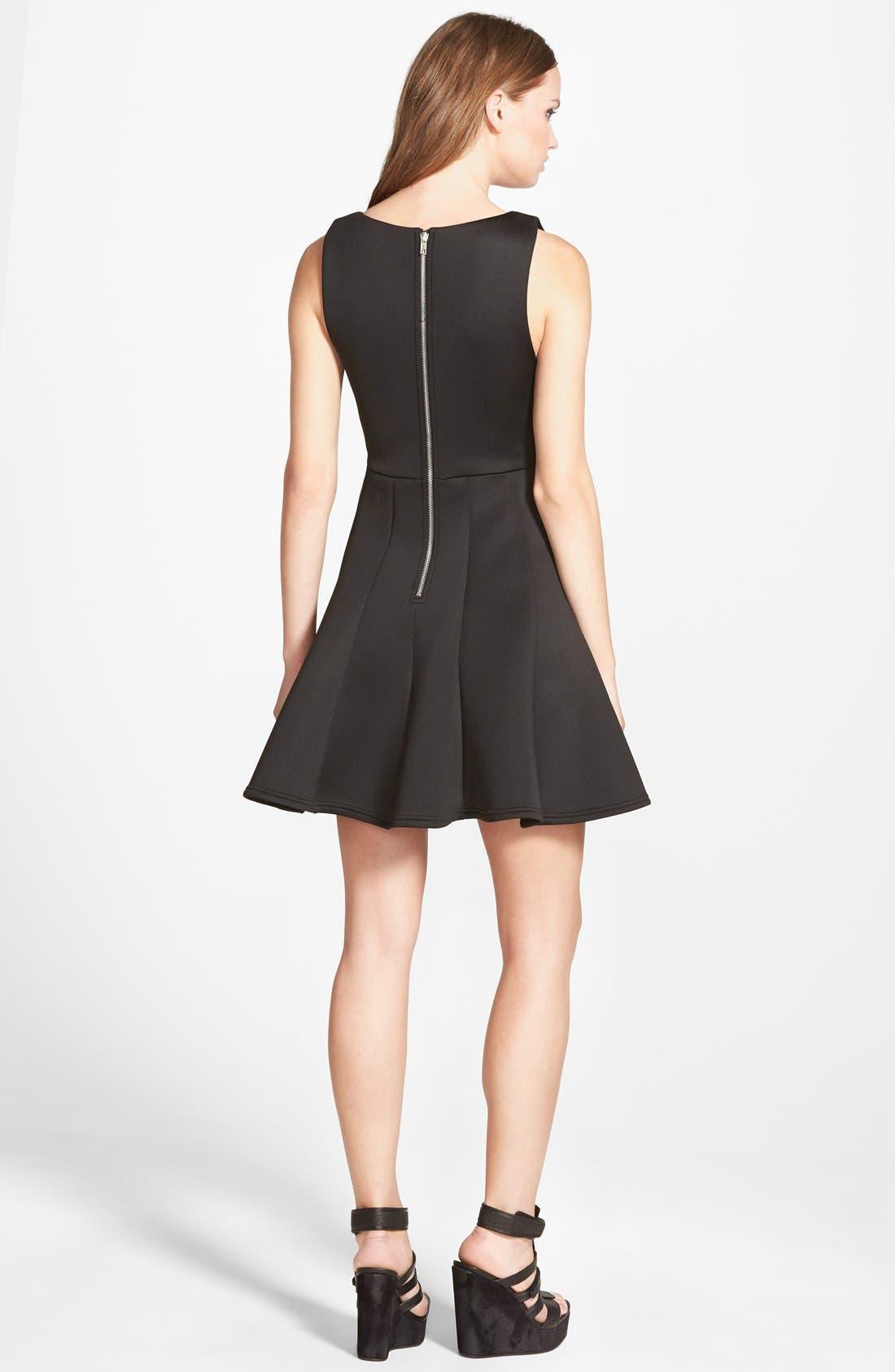 Alternate Image 2  - MINKPINK 'Stagnant' Jersey Fit & Flare Dress