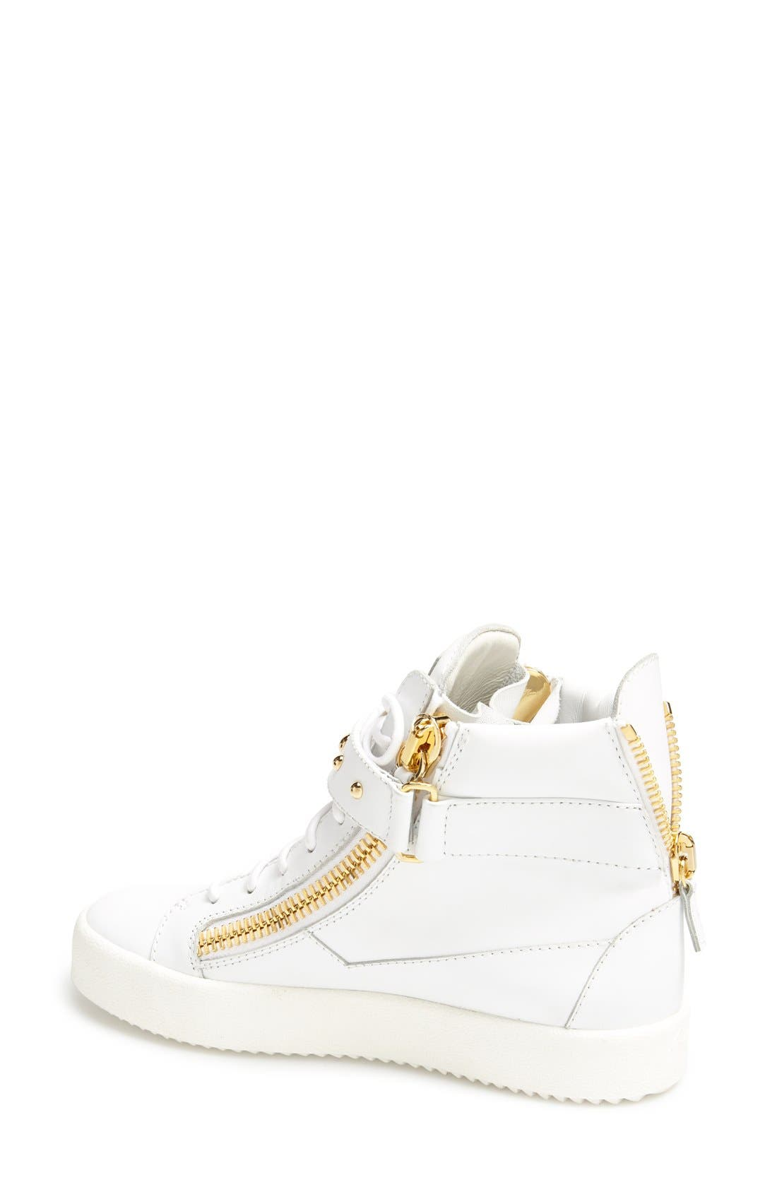 Alternate Image 2  - Giuseppe Zanotti 'May London' High Top Sneaker (Women)
