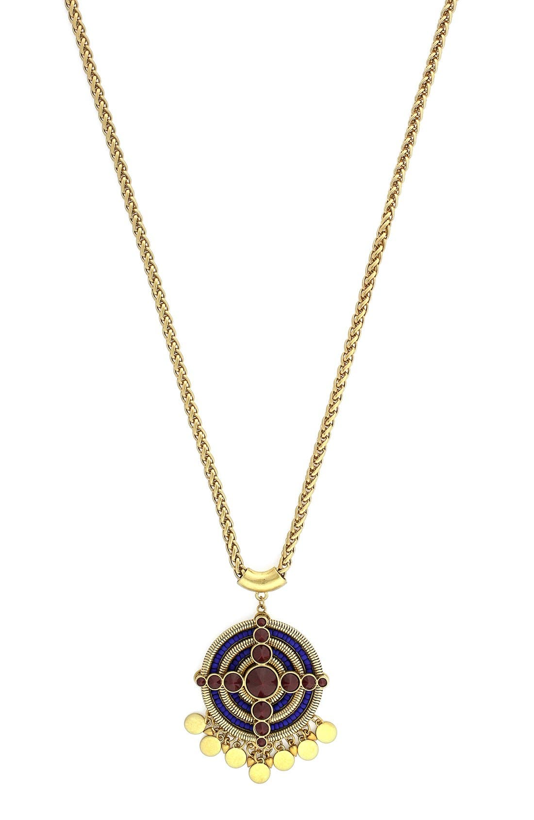 Alternate Image 1 Selected - Vince Camuto 'Belle of the Bazaar' Pendant Necklace