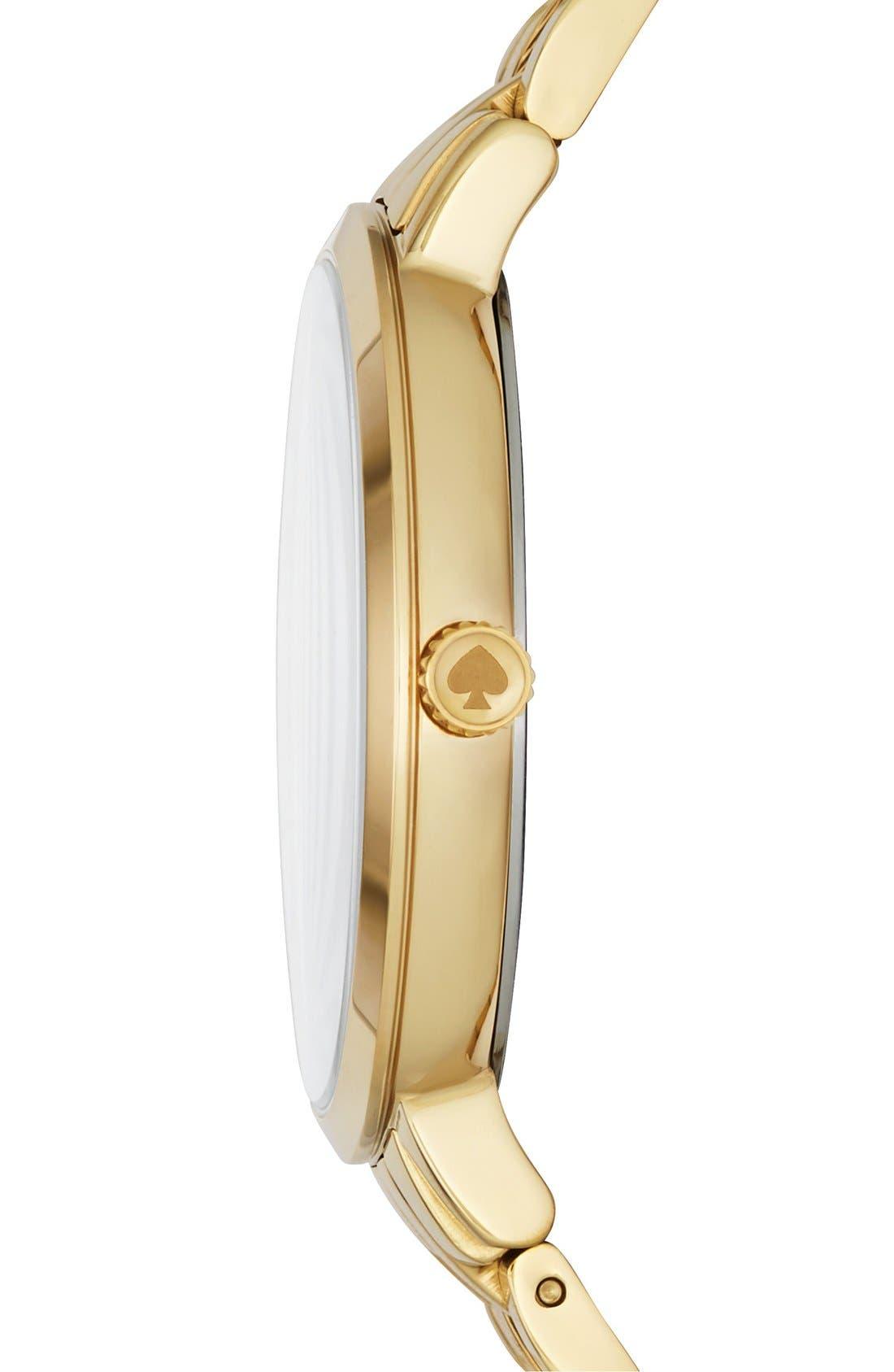 Alternate Image 3  - kate spade new york 'monterey' bracelet watch, 38mm