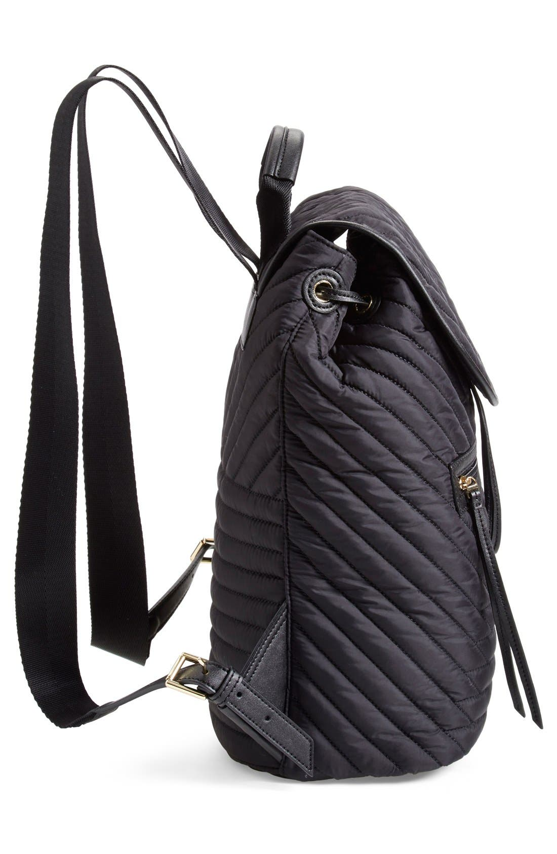 Alternate Image 5  - Tory Burch Quilted Nylon Backpack