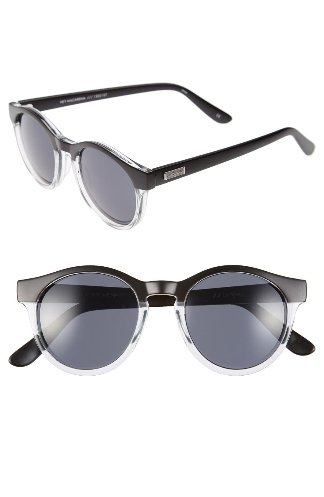 Alternate Image 1 Selected - Le Specs 'Hey Macarena' 51mm Round Sunglasses