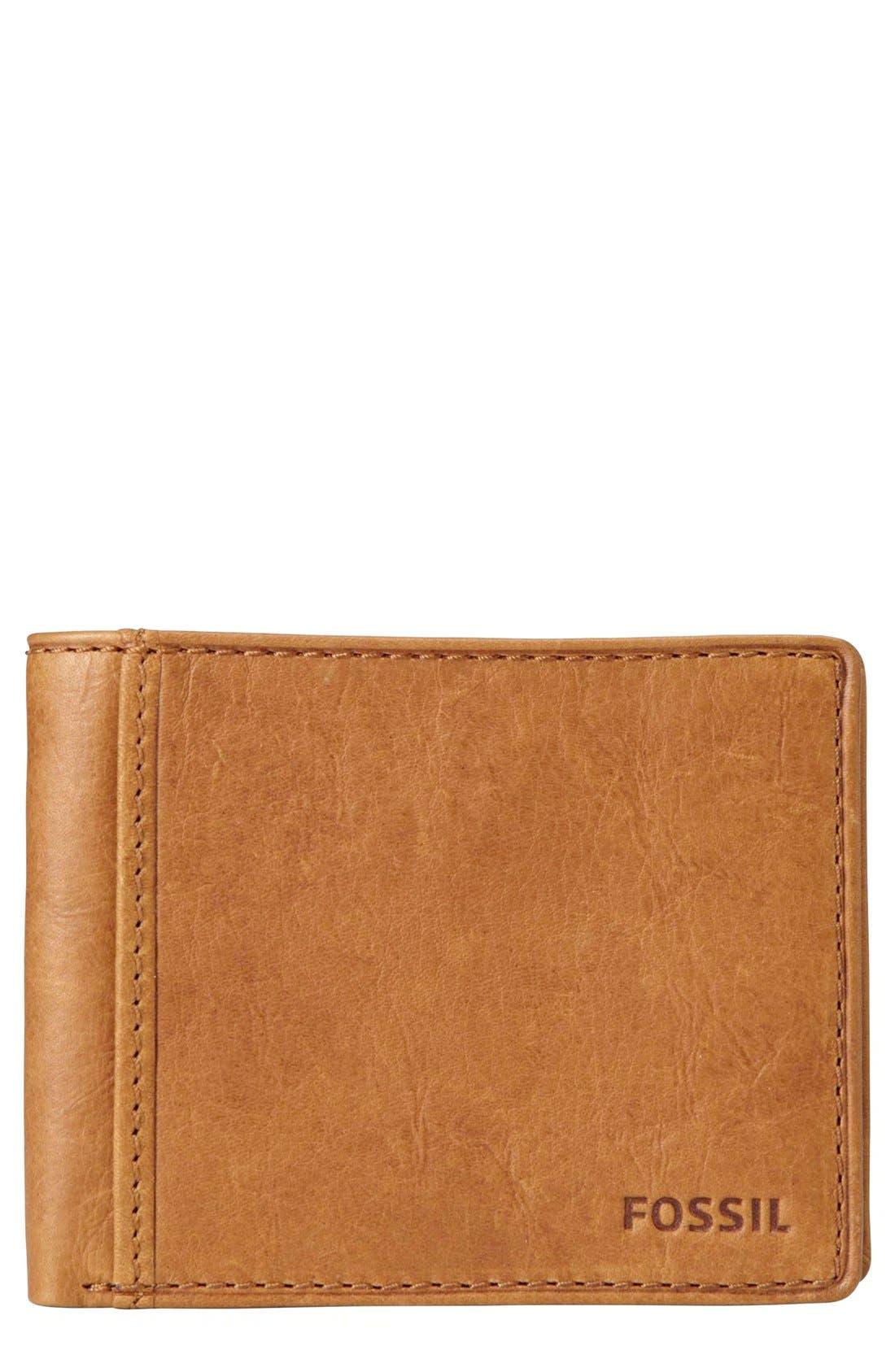 Main Image - Fossil Ingram Traveler Wallet