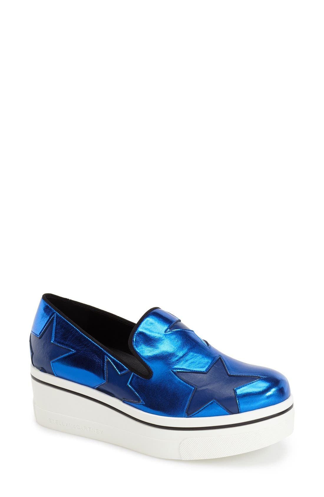 Alternate Image 1 Selected - Stella McCartney 'Star' Platform Loafer (Women)