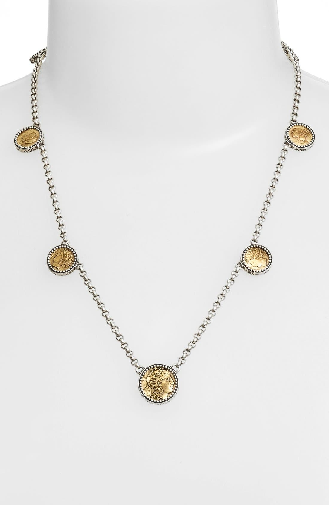 Konstantino 'Goddess' Coin Necklace