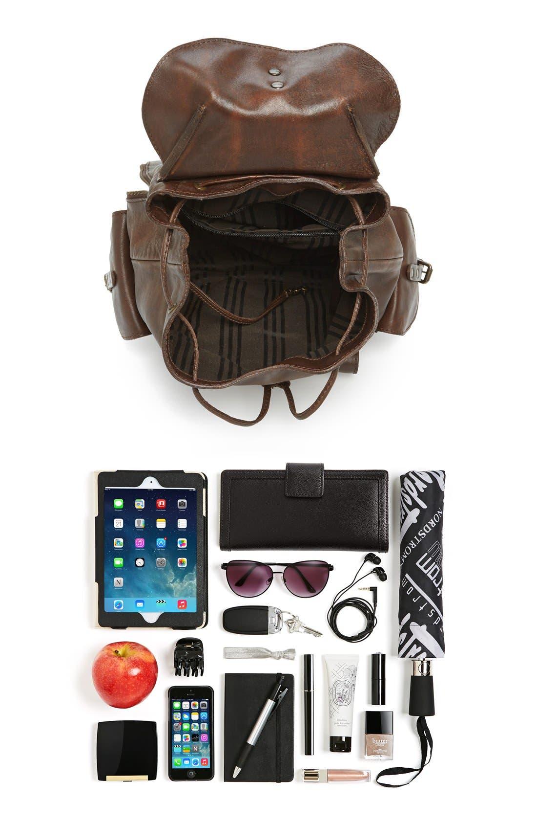 Alternate Image 5  - Frye 'Veronica' Leather Backpack