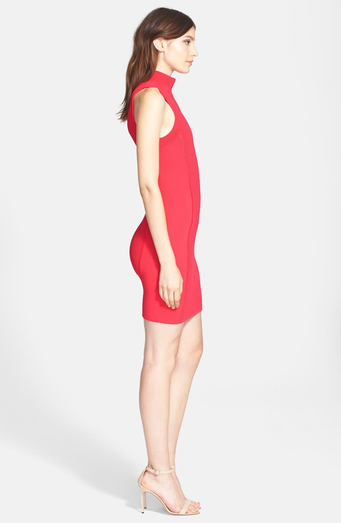 Alternate Image 3  - Parker 'Amy' Knit Turtleneck Body-Con Dress