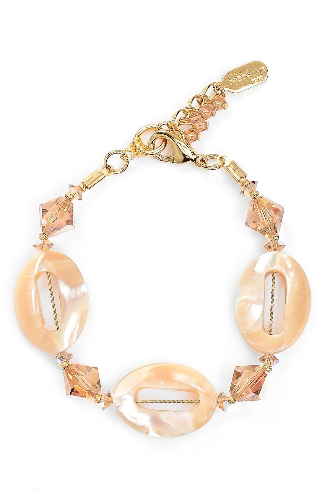 Alternate Image 1 Selected - Dabby Reid Semiprecious & Crystal Bracelet