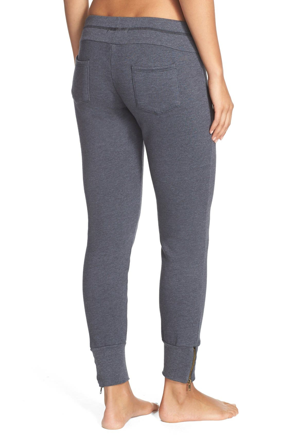 Alternate Image 2  - 35mm Clothing 'Molly' Zip Hem Jogger Pants