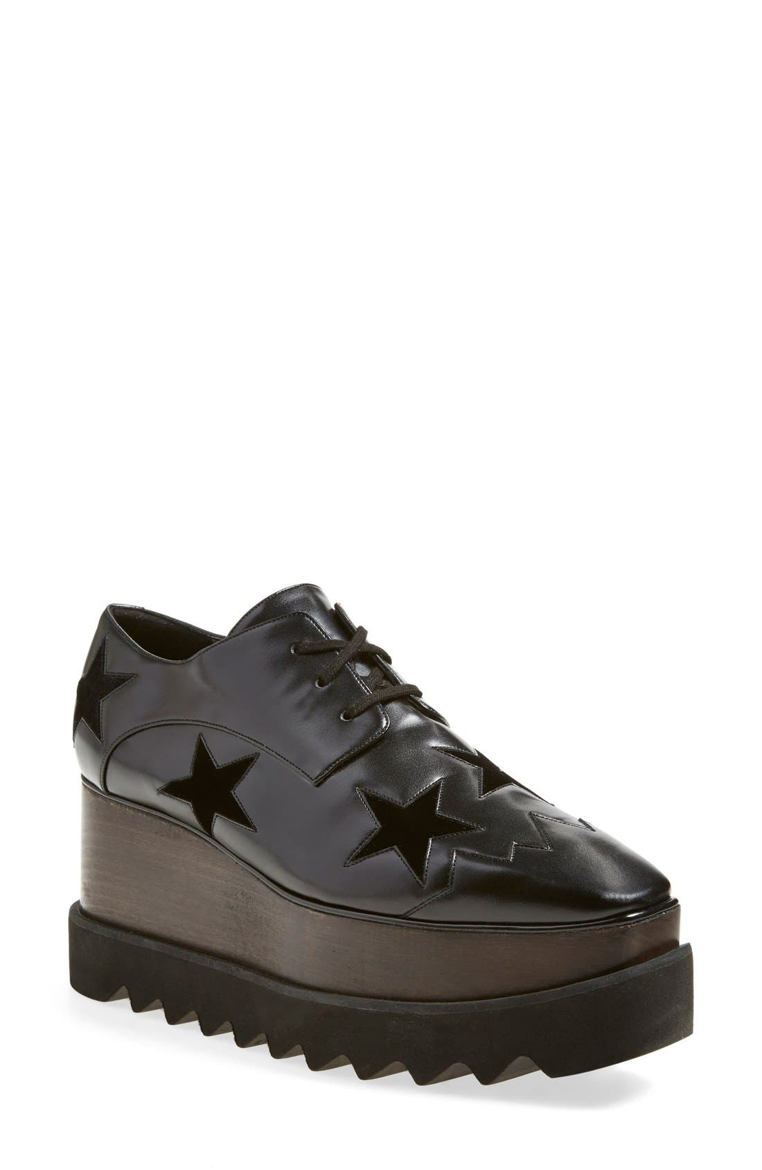 STELLA MCCARTNEY 'Elyse' Platform Derby