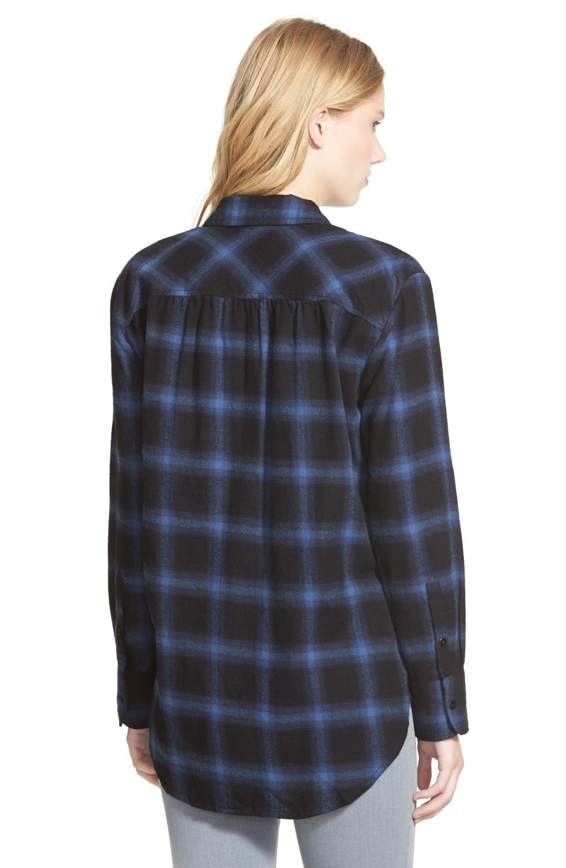 Alternate Image 2  - Sandra Plaid Flannel Shirt