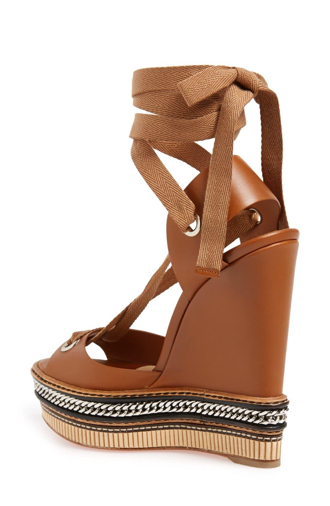 Alternate Image 2  - Christian Louboutin 'Tribuli' Wedge Sandal