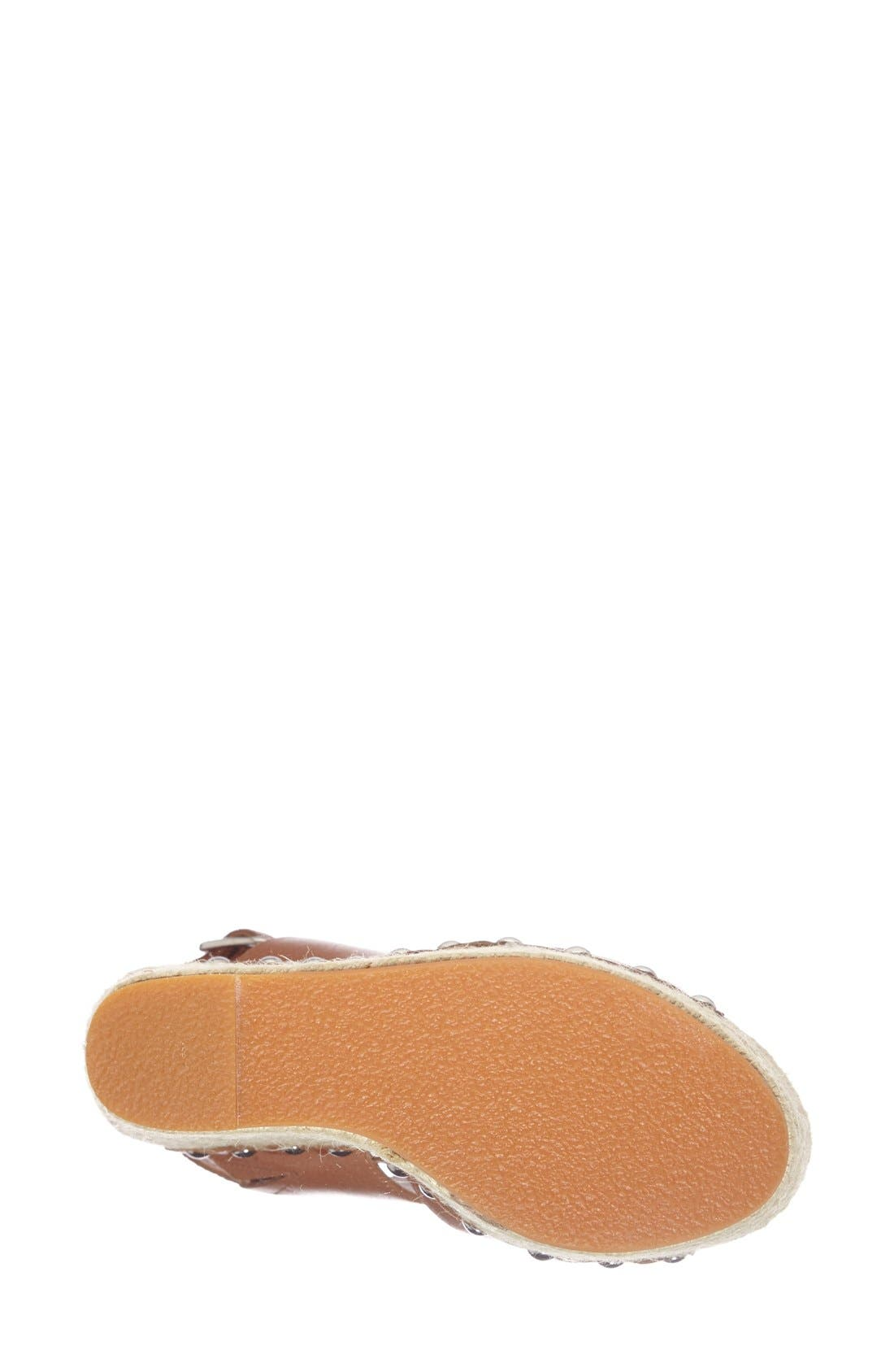 Alternate Image 4  - Steve Madden 'Jummbo' Espadrille Wedge Sandal (Women)
