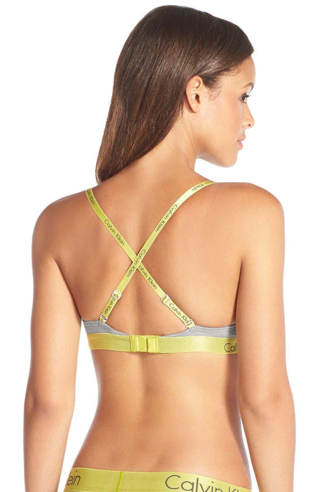 Alternate Image 3  - Calvin Klein 'Dual Tone Natural Lift' Convertible Underwire T-Shirt Bra