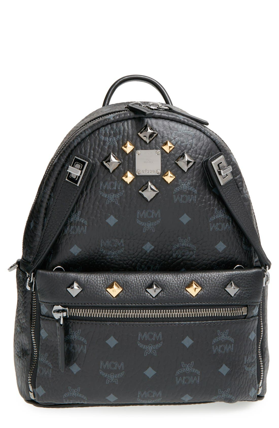 Alternate Image 1 Selected - MCM 'Small Dual Stark' Backpack