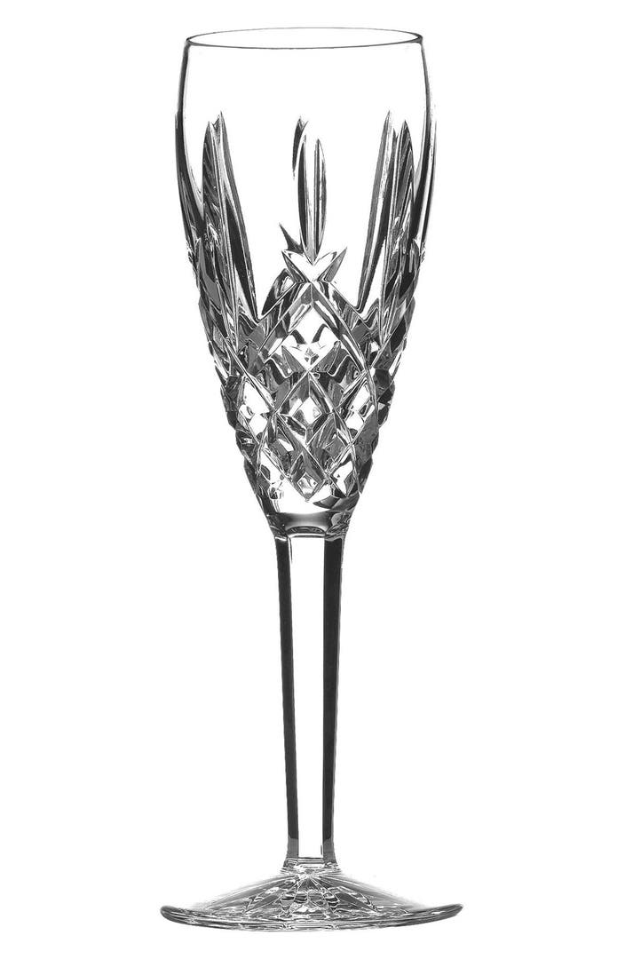 Waterford 39 araglin 39 lead crystal champagne flute nordstrom - Waterford colored wine glasses ...