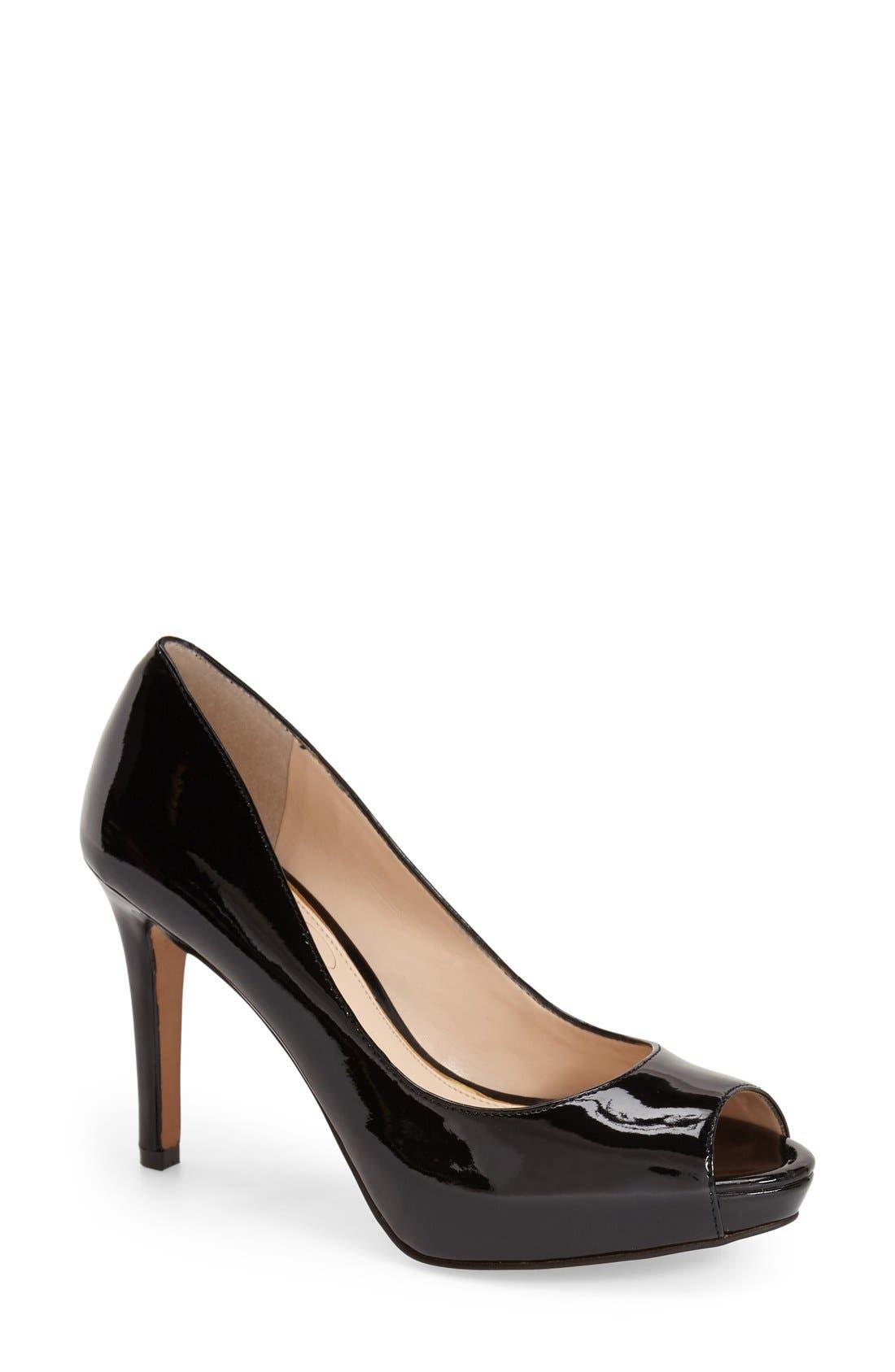 Alternate Image 1 Selected - Jessica Simpson 'Kelia' Peep Toe Pump (Women)