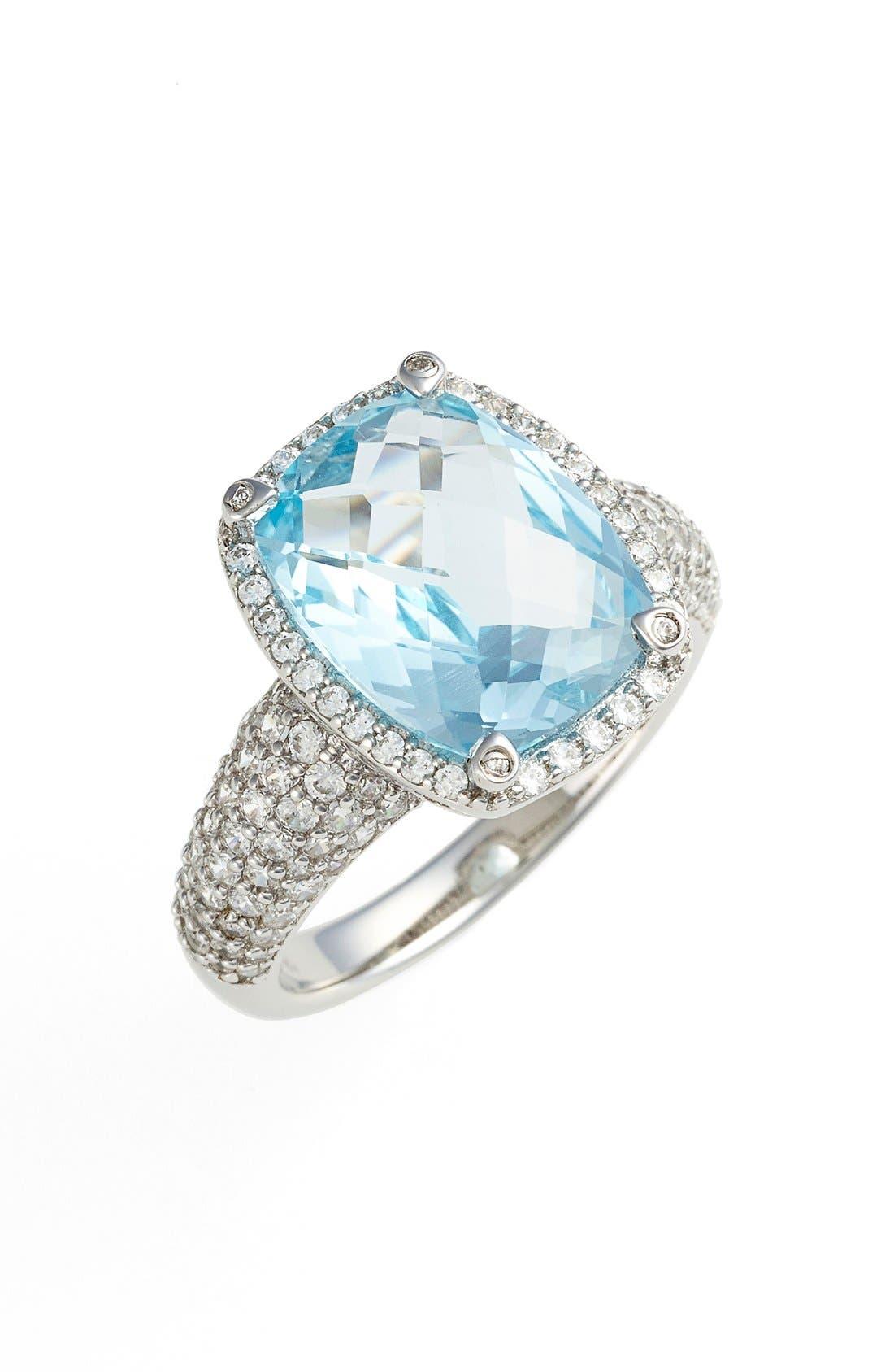 Main Image - Lafonn'Aria' Rectangle Cushion Cut Ring