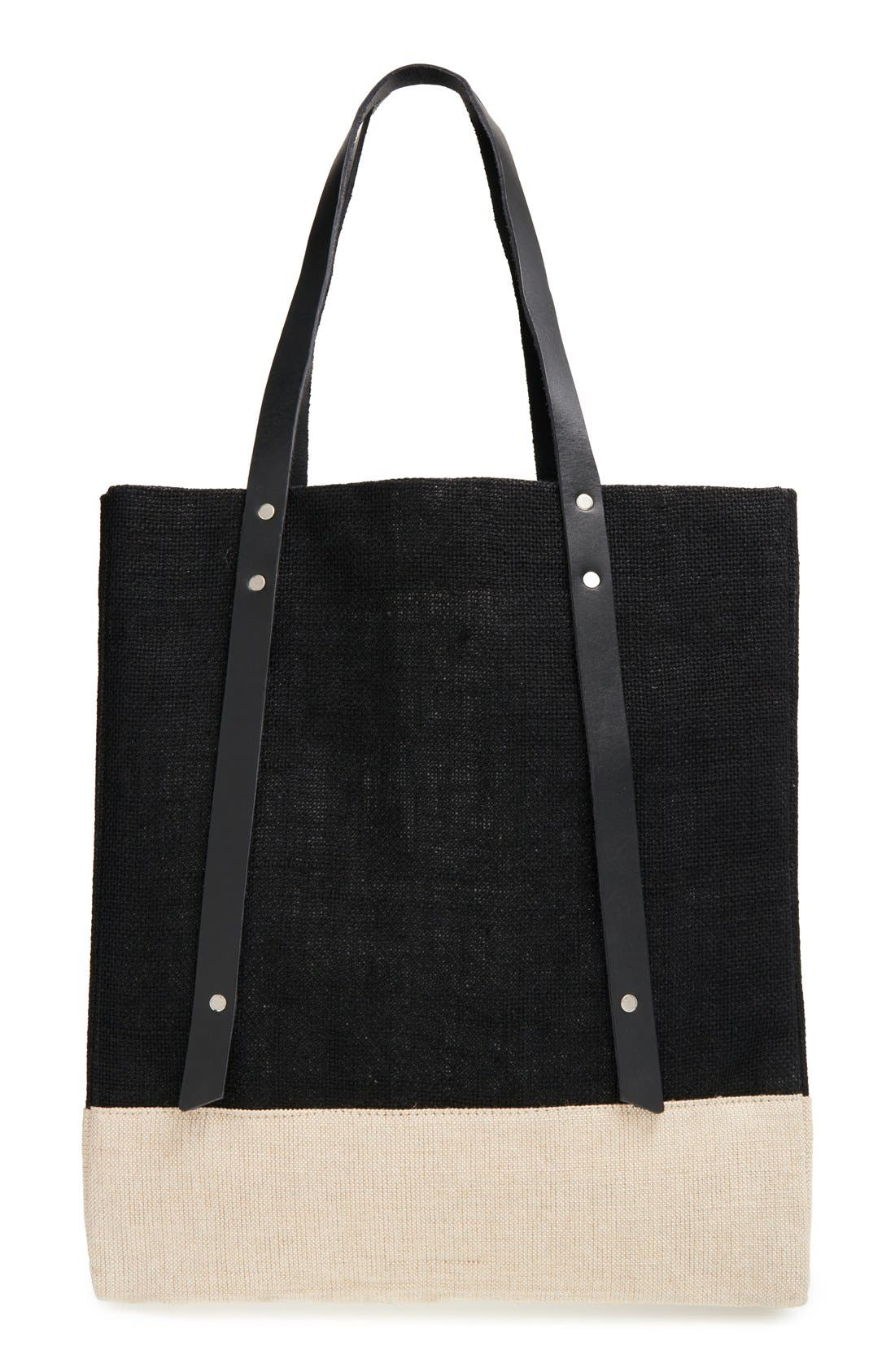 Alternate Image 1 Selected - Warby Parker x Apolis Wine Tote