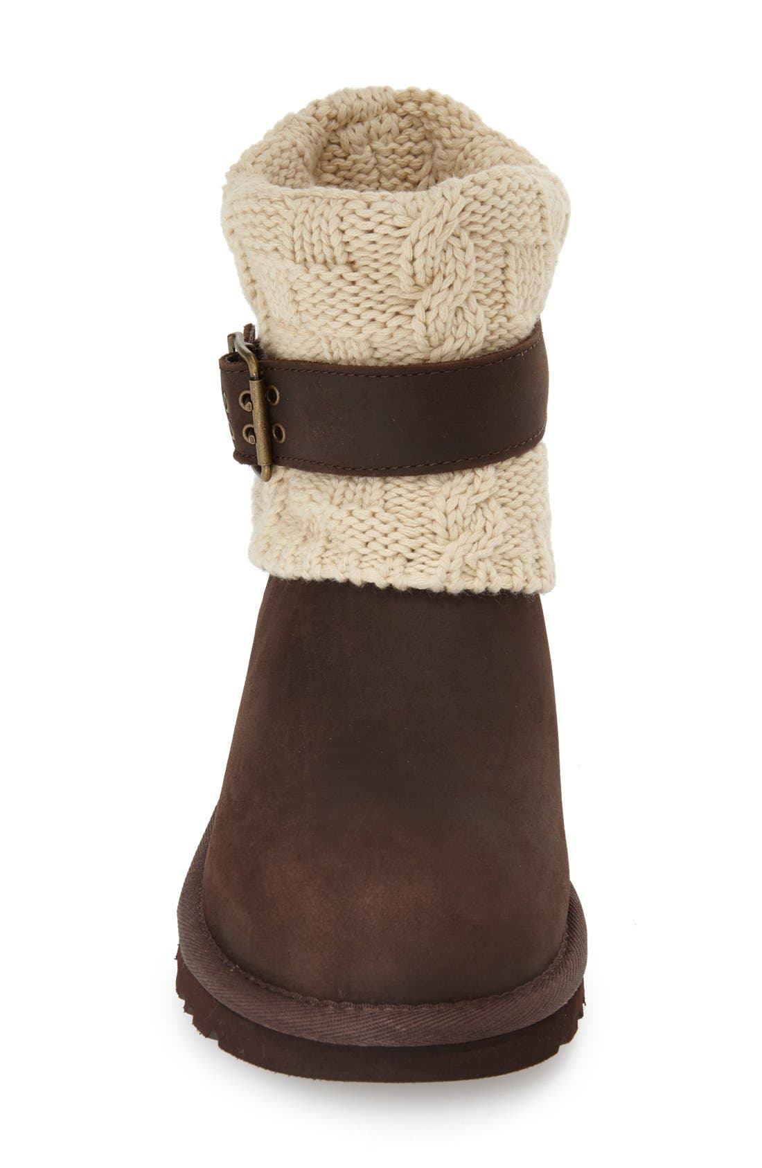 Alternate Image 3  - UGG® 'Cassidee' Cable Knit Boot (Women)