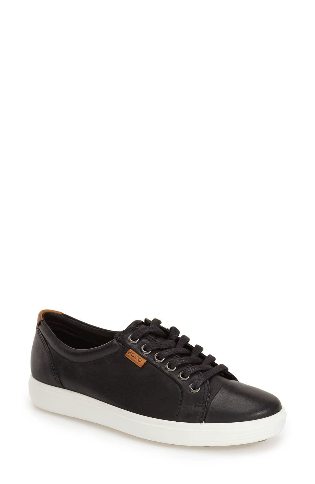 ECCO 'Soft 7' Cap Toe Sneaker (Women)