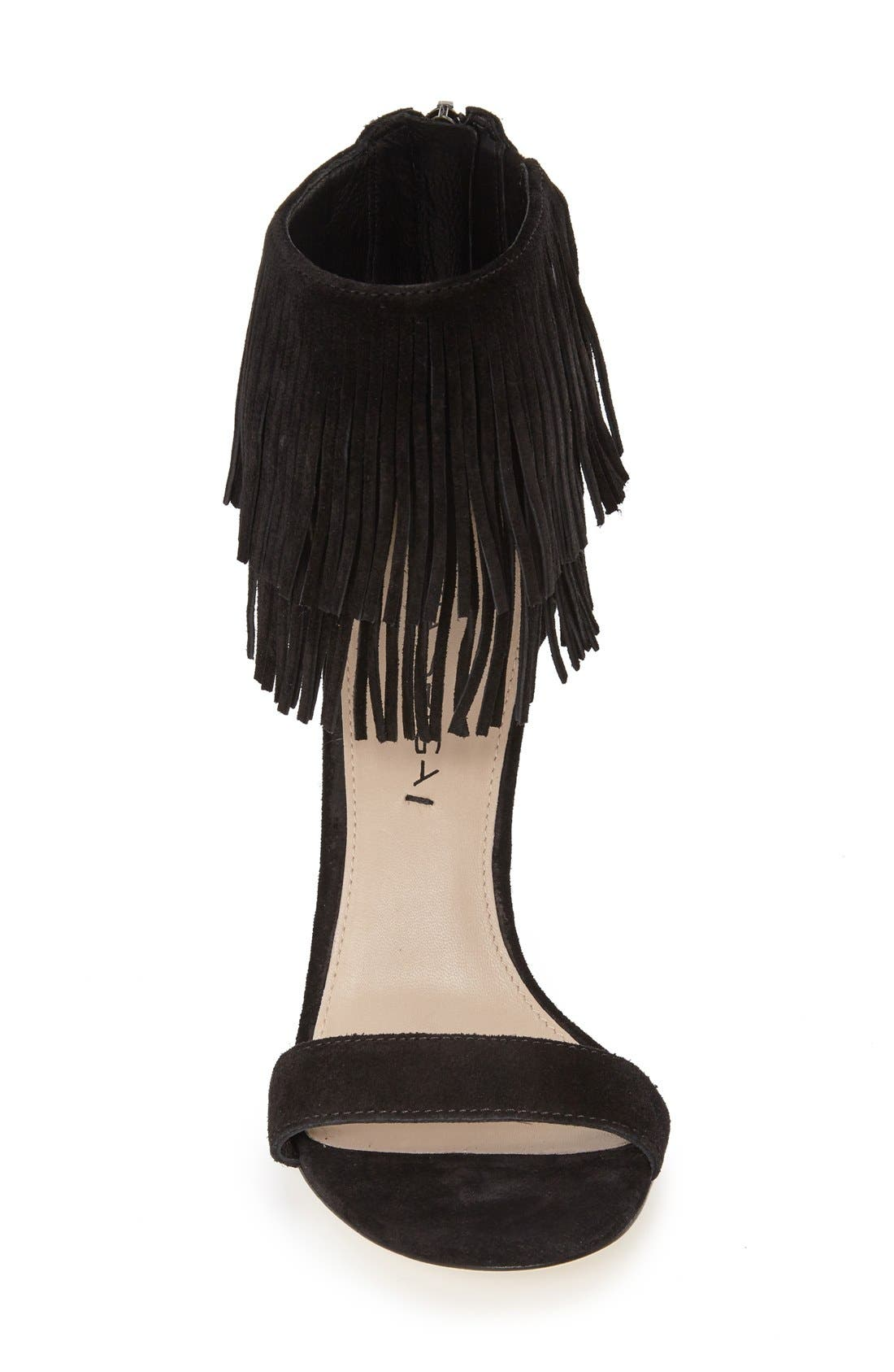 Alternate Image 3  - Via Spiga 'Tabia' Fringe Sandal (Women)